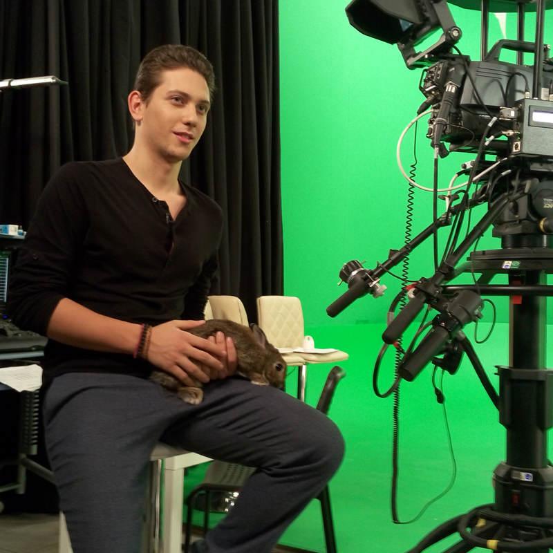 Запись эфира на RU.TV с Аленой Водонаевой в программе «Стол заказов»