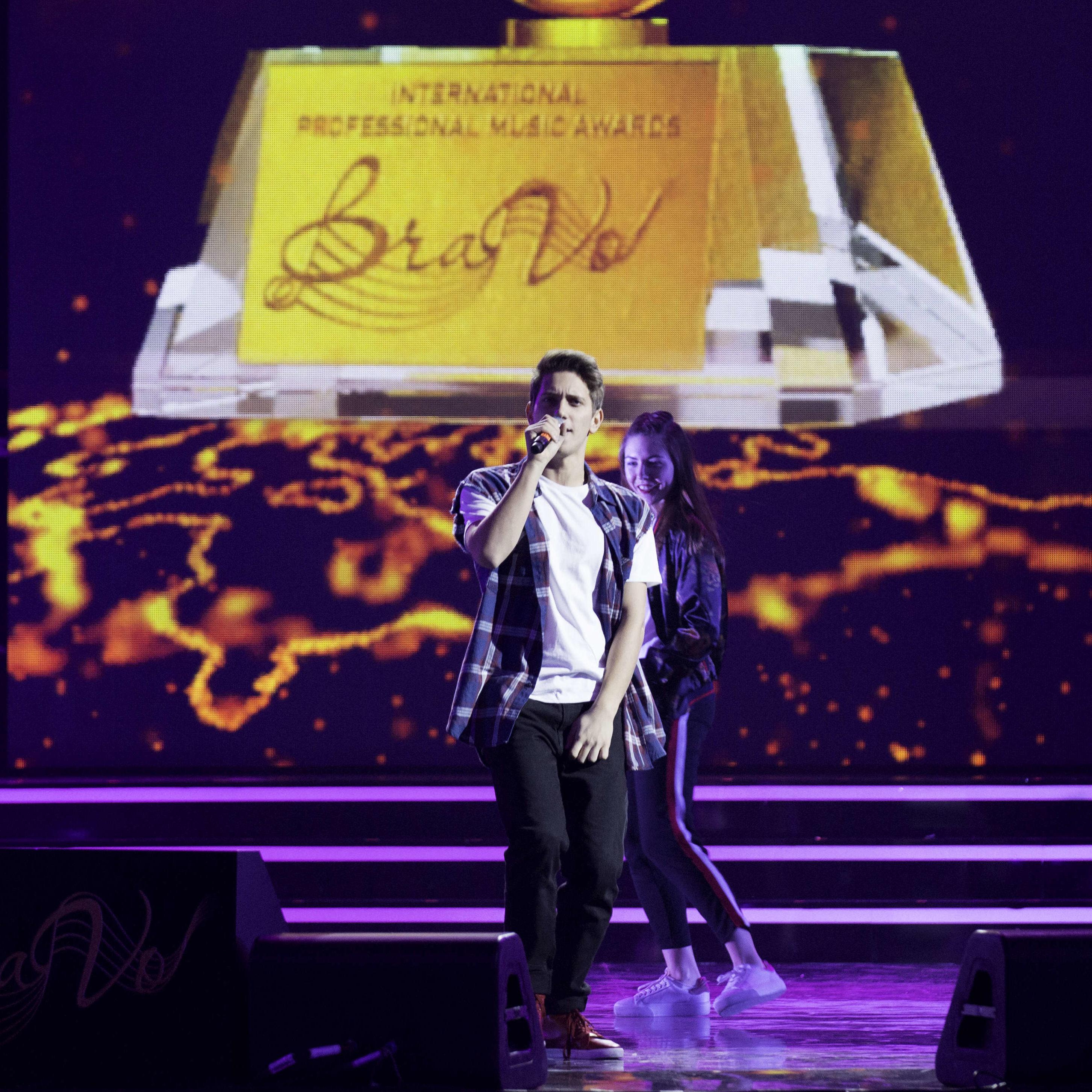 Церемония вручения Первой  Международной профессиональной музыкальной премии «BraVo» в области популярной музыки