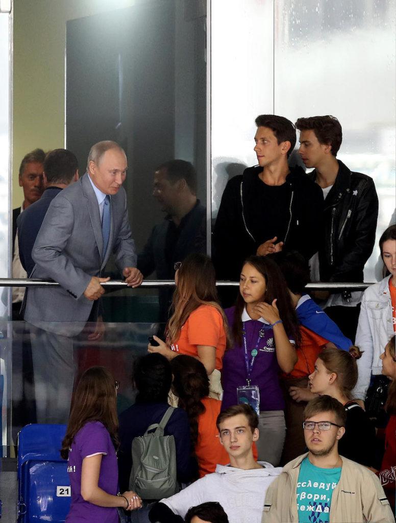 Президент Владимир Путин, ЮрКисс и ВладиМир